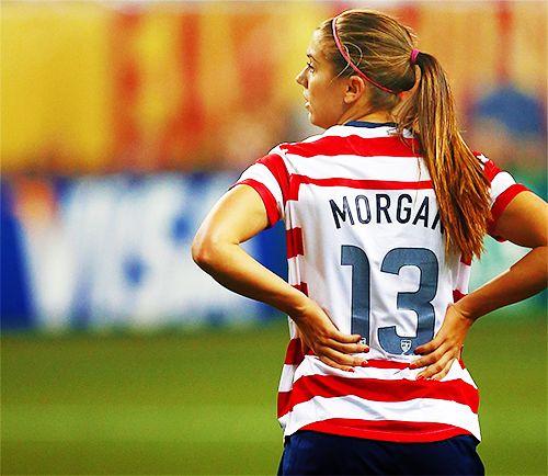 """The Beauty of Foot Ball"" Appreciation of Greatness #Alex #Morgan #USA"