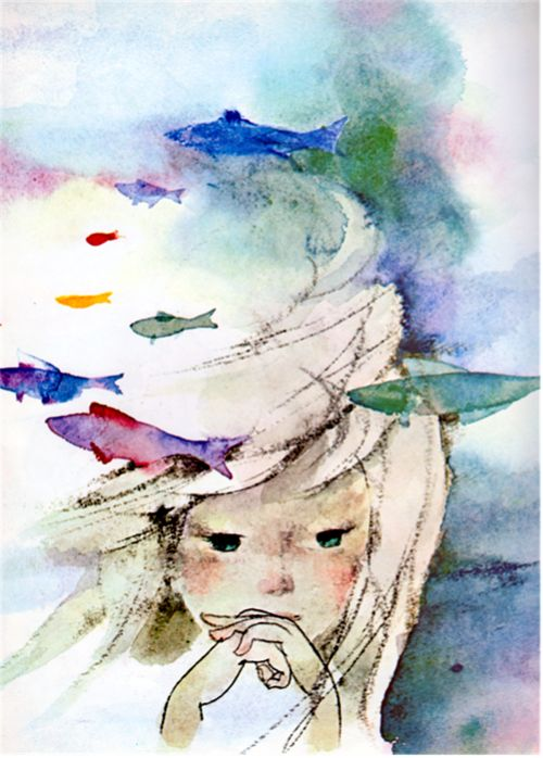 The Little Mermaid, illustrated by Chihiro Iwasaki