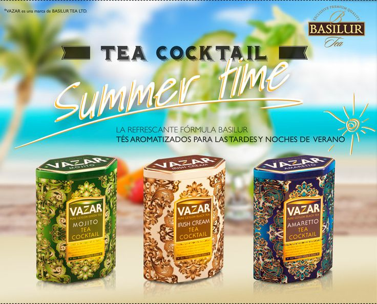 Basilur Tea Spain&France. Ceylan tea. Summer campaign in Spain