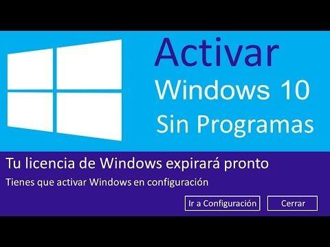 activacion de windows 10 pro gratis