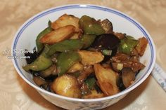 Три земных свежести (Жареная тройка) | Китайская кухня