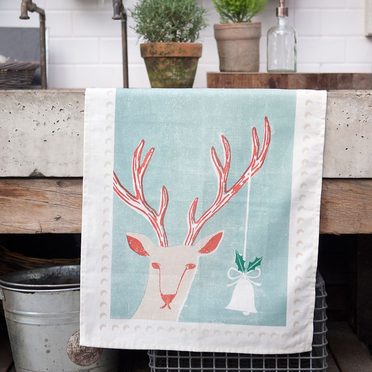 TERRAIN GIFT PICK : 'Tis the Season Tea Towel. #giftsandgreens #shopterrain