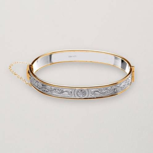 The Celtic Warrior Bangle from The Irish Store