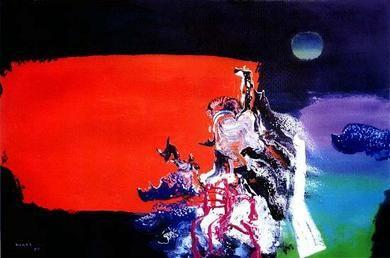Manabu Mabe, brazilian artist
