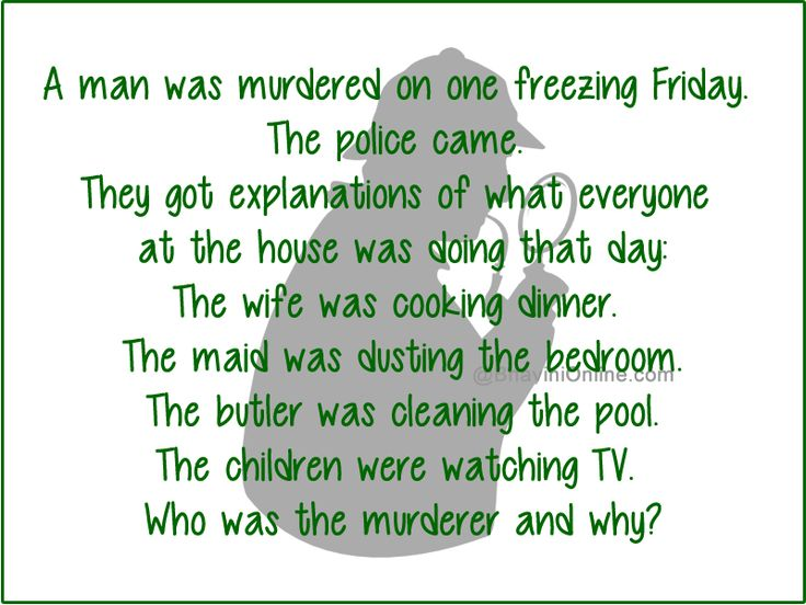 Murder Mystery: Who Was The Killer And Why? - BhaviniOnline.com