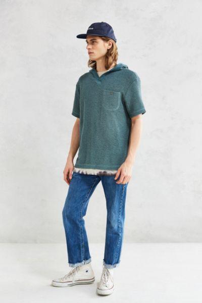CPO Salvo Short-Sleeve Hooded Sweatshirt - Urban Outfitters