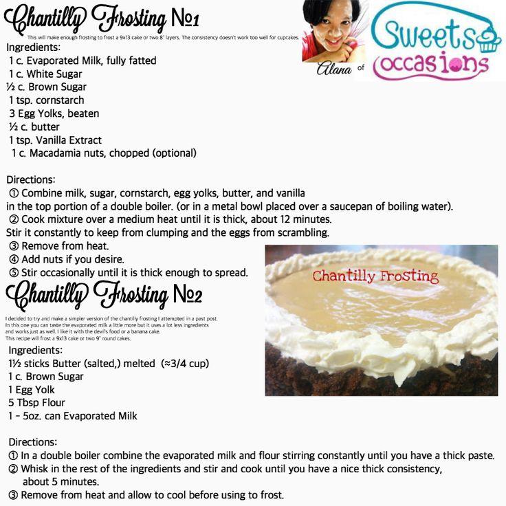 Chantilly frosting hawaiian dessert recipes chantilly
