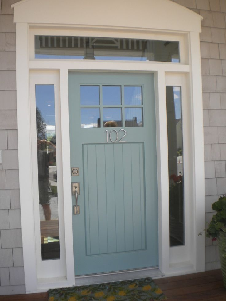 Home Design Amazing Gray Single Modern Front Doors Design 6 Lite Clear Glass\u2026 & 101 best 1920s House Exteriors images on Pinterest Pezcame.Com