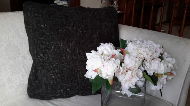 Scatter Cushion Cover - Charcoal - Designer Decorative Throw - Aussie Made