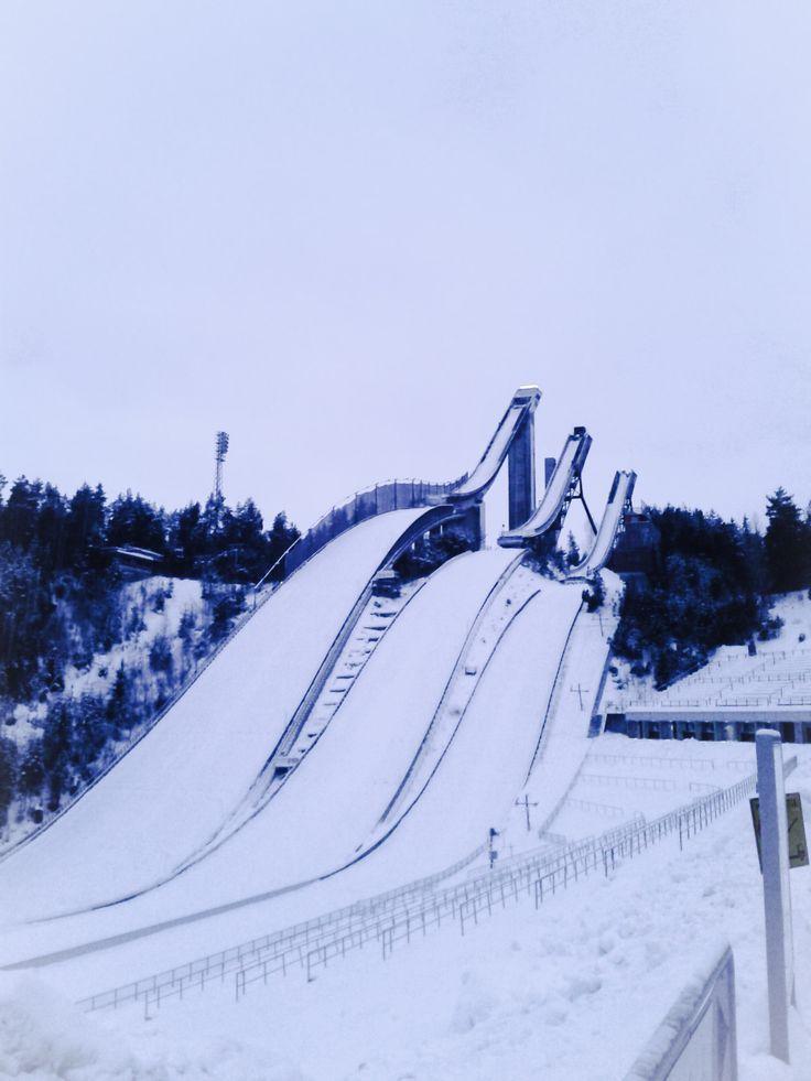 Saut à ski - Lahti in Finland
