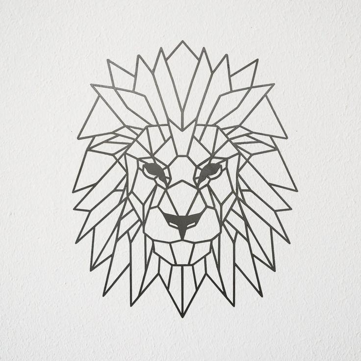 Image Result For Lion Geometric Outline Arte Geometrico Leon Geometrico Arte Why do we show ads on thingiverse? image result for lion geometric outline