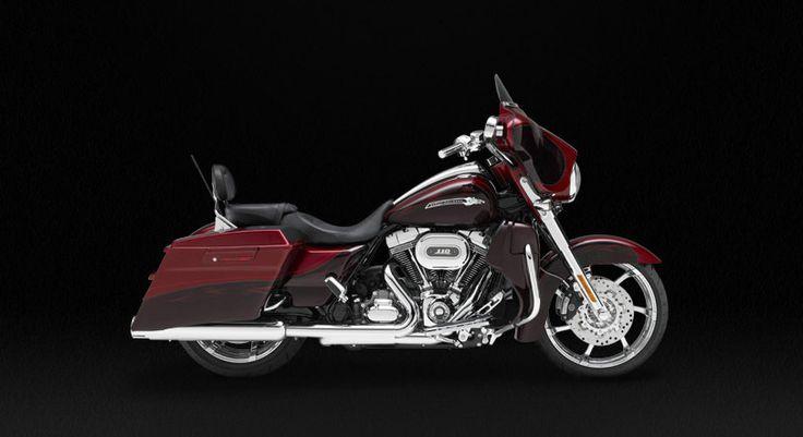 My 2012 CVO Street Glide Motorcycle Ruby Red & Typhoon Maroon w/ Phantom Flame Graphics-Mirror Chrome Agitator Custom Wheels
