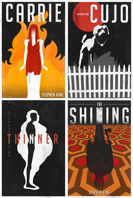 Laz Marque: classic Stephen King movie posters reborn