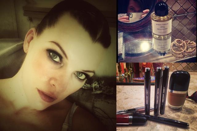 Asi consiguen estar mas bellas las celebs: Milla Jovovich, el perfume 1996 y el maquillaje de Marc Jacobs