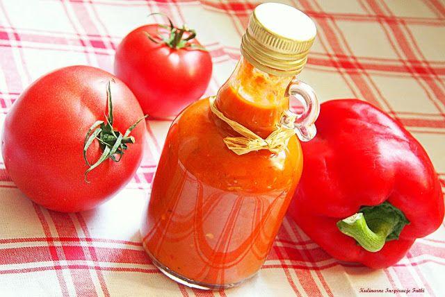 Kulinarne Inspiracje Futki: Pikantny sos paprykowo - pomidorowy