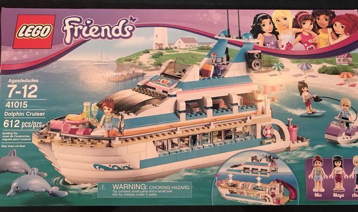 LEGO Friends Dolphin Cruiser Sealed Boat Ship Yacht Cruise ...