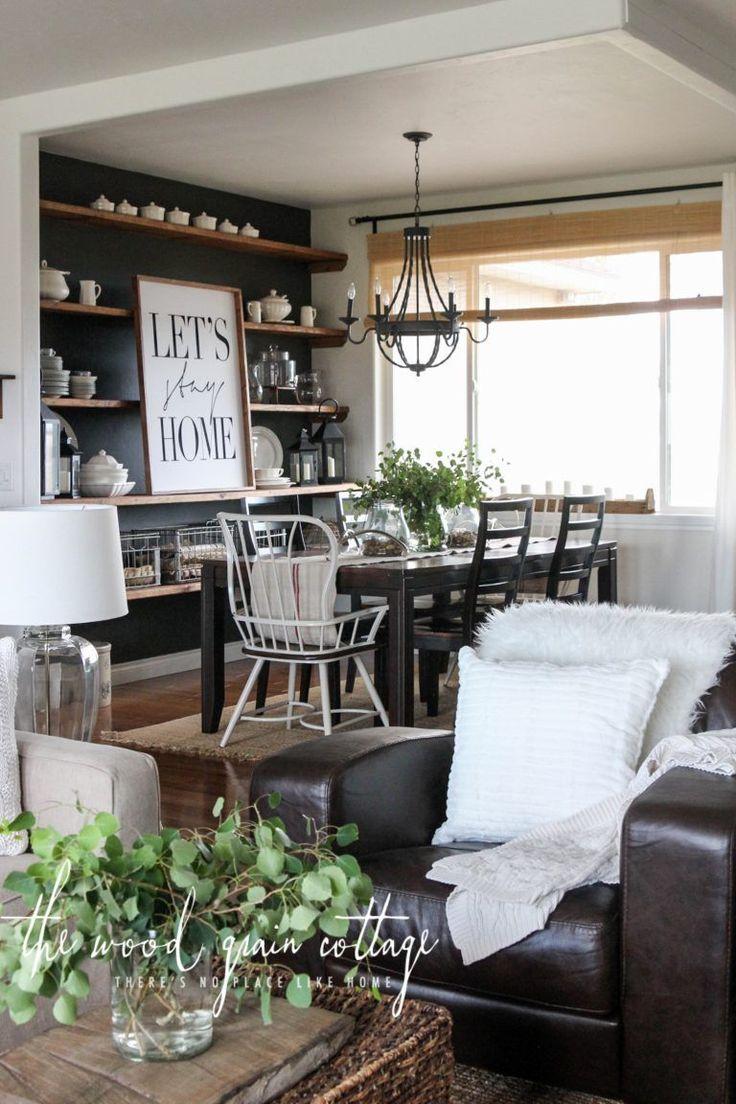 a big living room refresh - Dining Room Inspiration