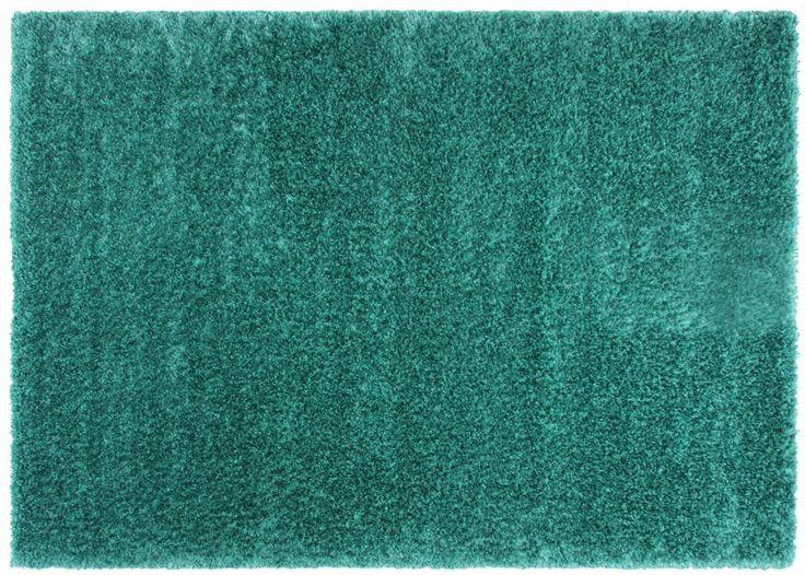Tapis shaggy turquoise 120x170cm FLAVIO