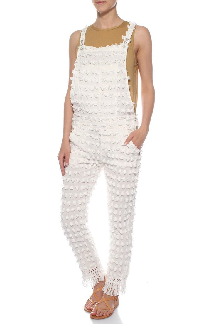 This jumper features lightweight material and is perfect for this summer's wardrobe!   White Jumpsuit by Maison Scotch. Clothing - Jumpsuits & Rompers - Jumpsuits Canada