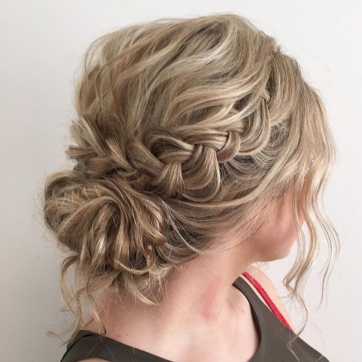 Messy Wedding Updo Hairstyles: Best 25+ Messy Wedding Updo Ideas On Pinterest