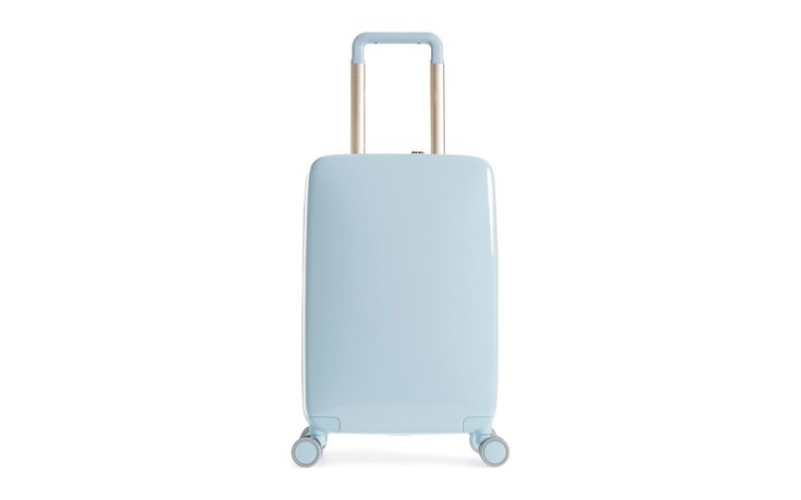Raden A22 22-inch Charging Wheeled Carry-on Suitcase | These patterned, metallic, and bold-colored suitcases will stand out at the baggage claim.