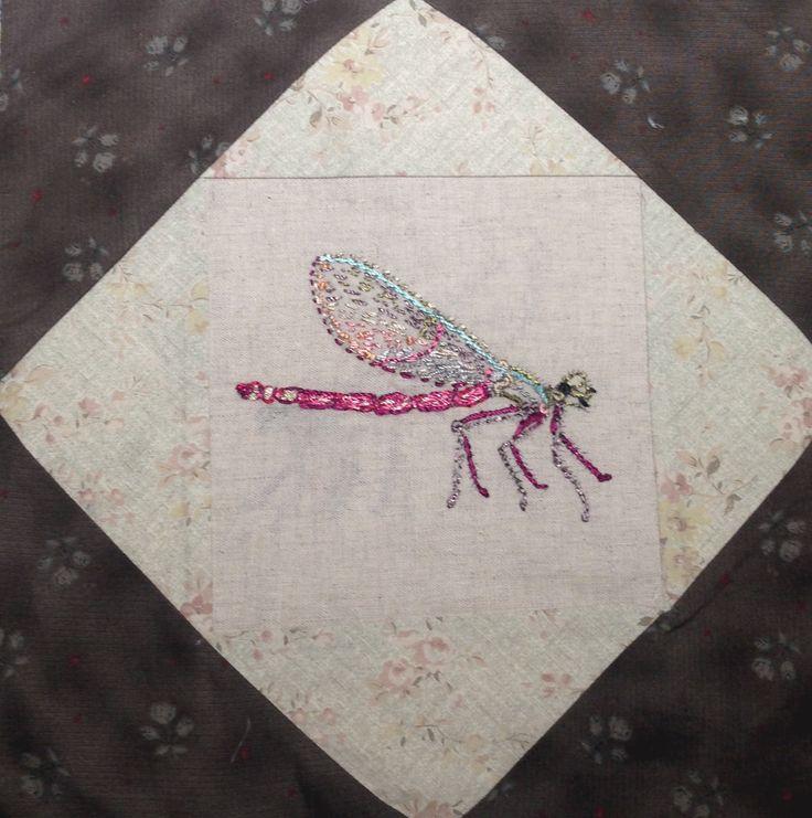 In een quilt