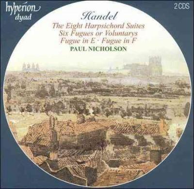 Paul Nicholson - Handel:The Eight Harpsichord Suites