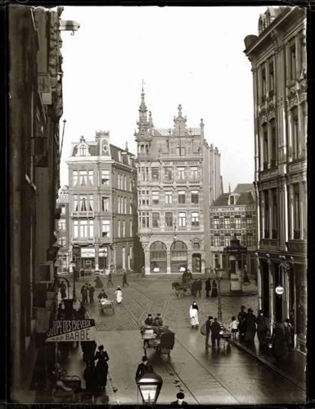 vintage everyday: Amsterdam in Victorian Era – 28 Impressive Vintage Photos of the Capital of Netherlands Before 1900