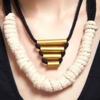 Refinery29 Shops: Plume Pyramid Rope Necklace - Piera's Closet - Boutiques