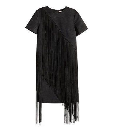 H&M Fransenkleid (80 €)
