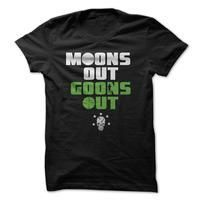 Moons Out Goons Out - http://mixre.com/product/moons-out-goons-out/ #5050Blend, #Adult, #Male