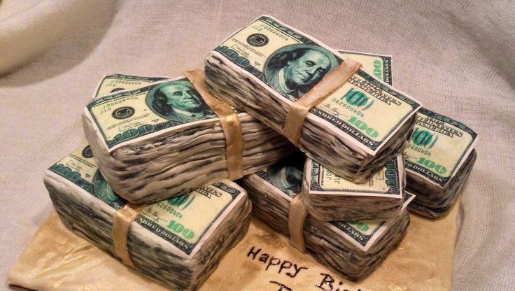 Birthday Cake Ideas Birthday Cake Ideas Pinterest Money Cake - Money birthday cake images
