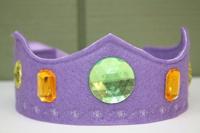 Felt Crown - Bejeweled