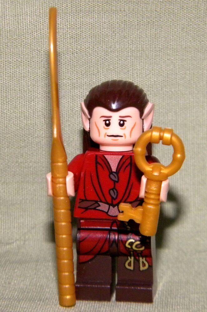 Lego The Hobbit Elf Chief Jailer Mini Figure Loose From Set 79004