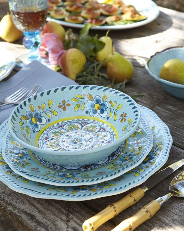 Outdoor dinnerware - Madrid Melamine Dinnerware | The Lord ...