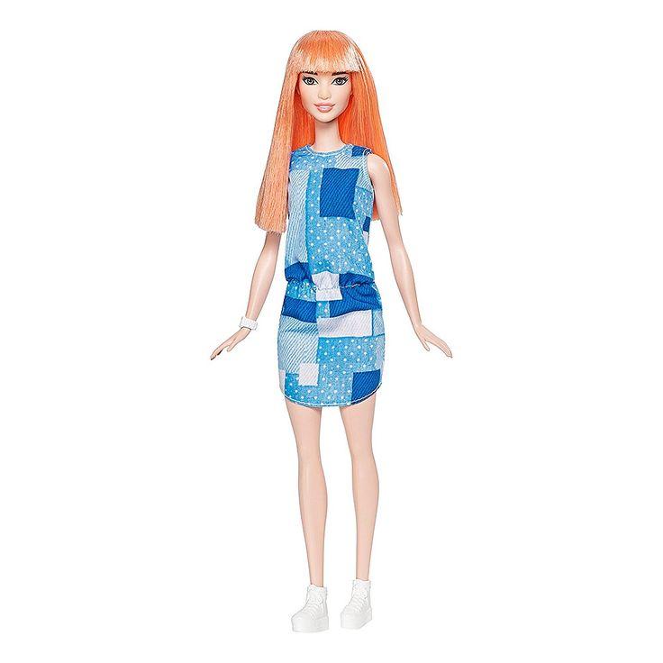 <strong>Barbie - Muñeca Fashionista Vestido Tejano</strong>, una muñeca de la colección <strong>Barbie Fashionista</strong> y que rebosa de glamour de la cabeza a los pies. Con modas inspiradas en la serie Barbie, ¡sabe posar como una verdadera modelo! Existen varias muñecas Barbie Fashionista. Se venden por separado. ¡Colecciónalas! Edad recomendada: +3 años.