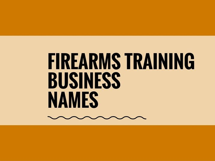 A Creative name is the most important function for Every Company. Check Creative Firearms business names ideas for your Inspiration.