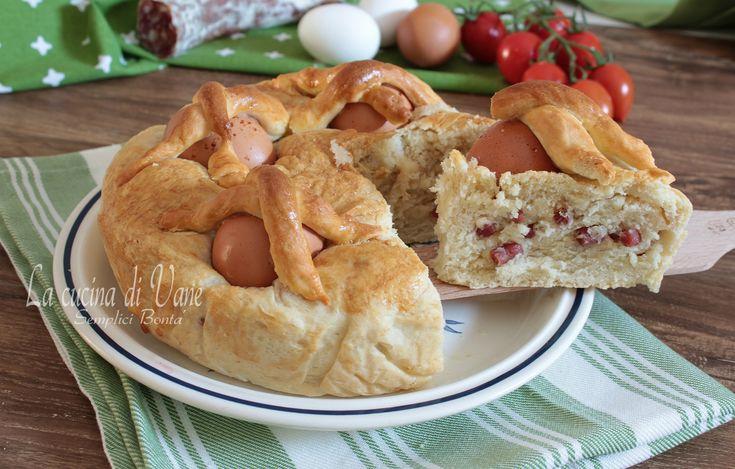 Casatiello ricetta di Pasqua golosa ricetta tradizionale di Pasqua