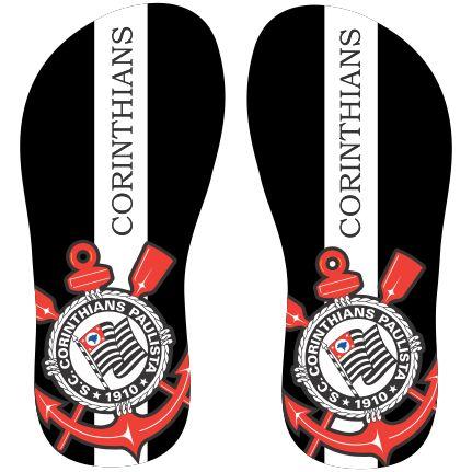 Estampa para chinelo Corinthians 000341 - Customize Transfer                                                                                                                                                                                 Mais