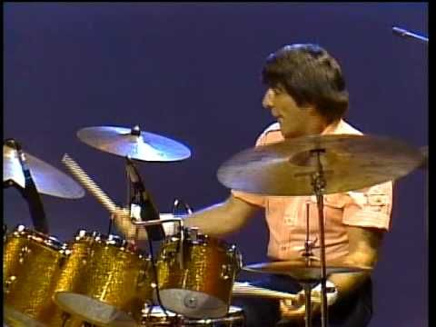 The Ventures - Wipeout!!  Fantastic, fabulous drumming from two drummers for the performance.