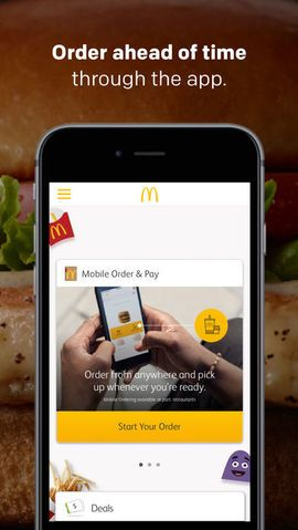 It's even easier to get the food you crave with McDonald's Mobile Order and Pay. Order ahead and get your favorite food in 3 easy ways: curbside, inside the restaurant or at the drive-thru. Get daily or weekly deals and offers on tasty food like McCafé coffee and All Day Breakfast and pay with the McDonald's app or Apple Pay. Download and register today.  #Food #Drink #ios #iosapp #Appstore