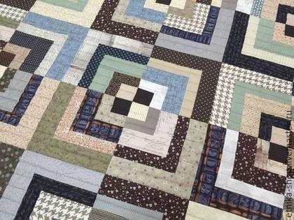 """Текстиль, ковры ручной работы. """"Японское  №7"""". Etnika магазин-мастерская. Ярмарка Мастеров. Лоскутное одеяло, стеганое одеяло"""