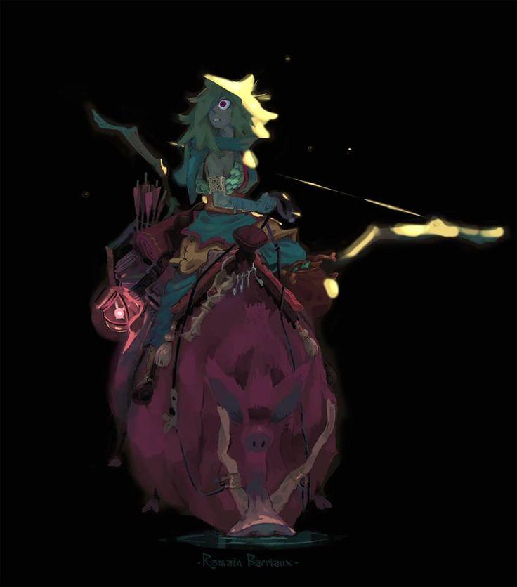 Character Design Challenge Zelda : Winner of the character design challenge and enrique