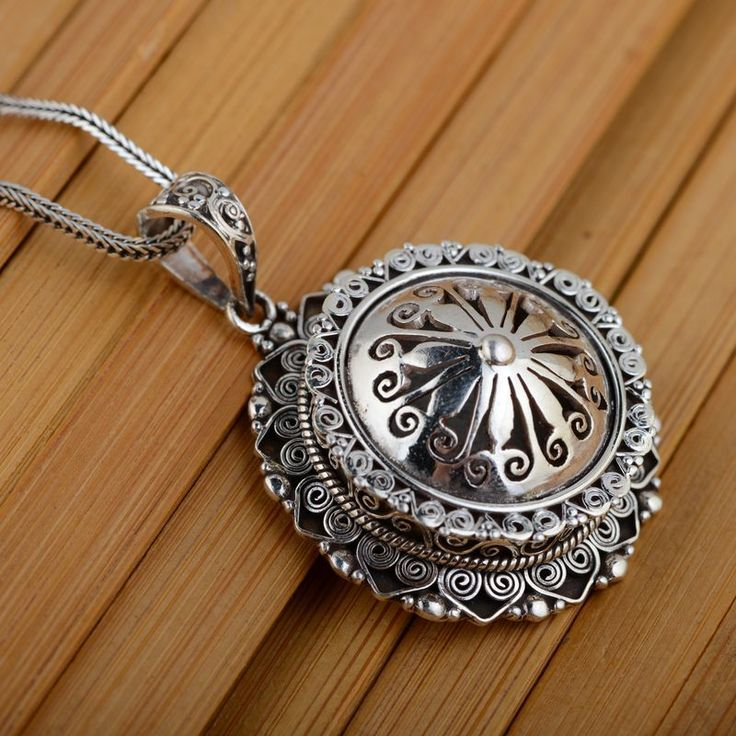 [silver] deer king gawu Box Pendant Shurangama mantra S925 sterling silver wholesale silver style text