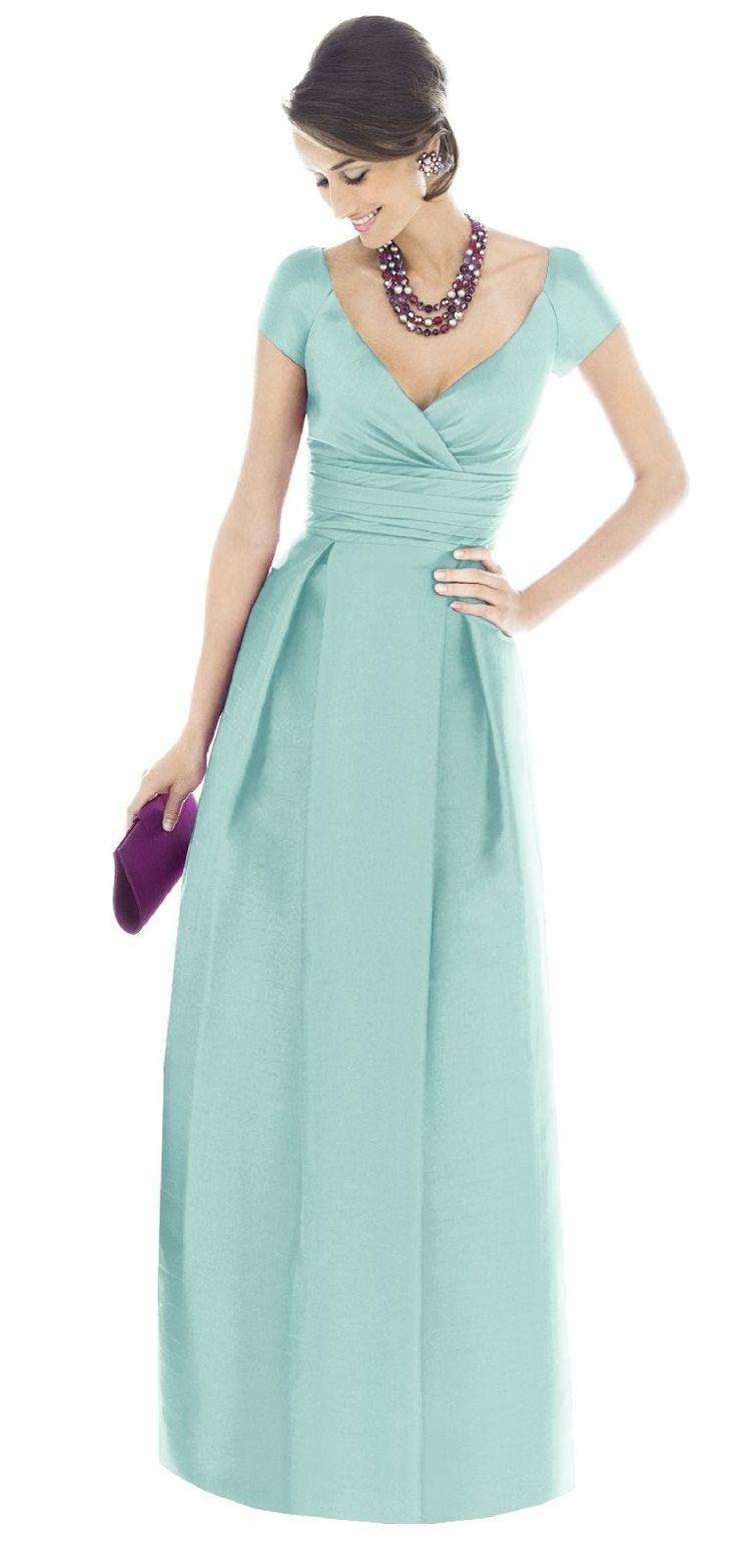 Alfred Sung Bridesmaid Dress >> Beautiful color