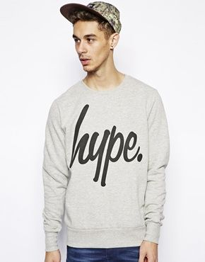 Image 1 of Hype Sweatshirt with Basic Logo
