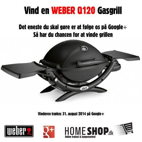 Vind en Weber Q1200 grill på vores Google+ side http://tinyurl.com/l3pwe65  pic.twitter.com/yusuw4kyJT