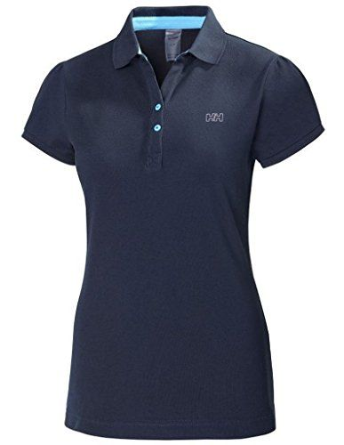 Helly Hansen Polo - Women's Navy Medium -- To view further for this article, visit the image link. #WomensCampingClothing