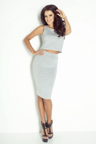 IVON Spódnica midi model sp52 tworzy idealny zestaw z crop topem  #pencilskirt, #skirt #shoponline #polskiproducent #fashion #moda, #style