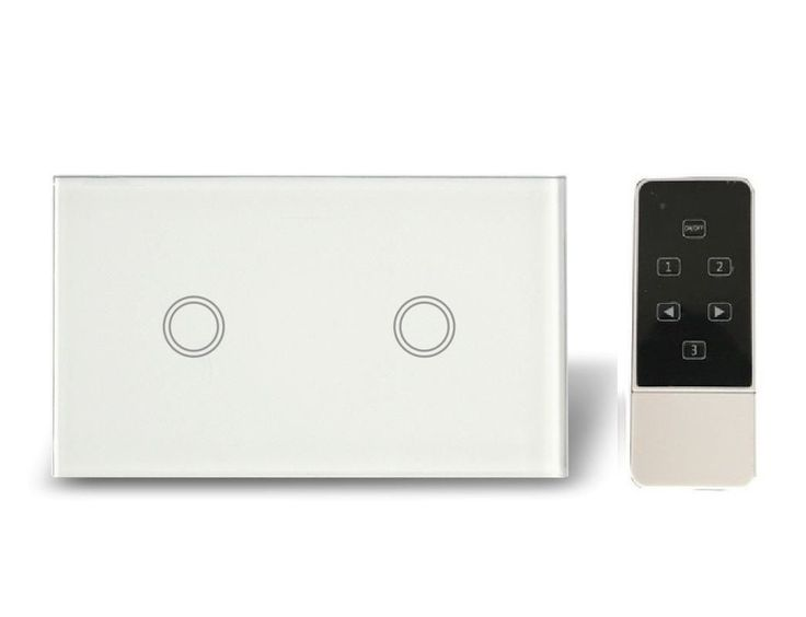 Now available at Home Lighting Hub 2 Gang 1 WAY + Re... visit us now for more http://www.homelightinghub.com.au/products/2-gang-1-way-remote-modern-blue-led-touch-light-switch?utm_campaign=social_autopilot&utm_source=pin&utm_medium=pin